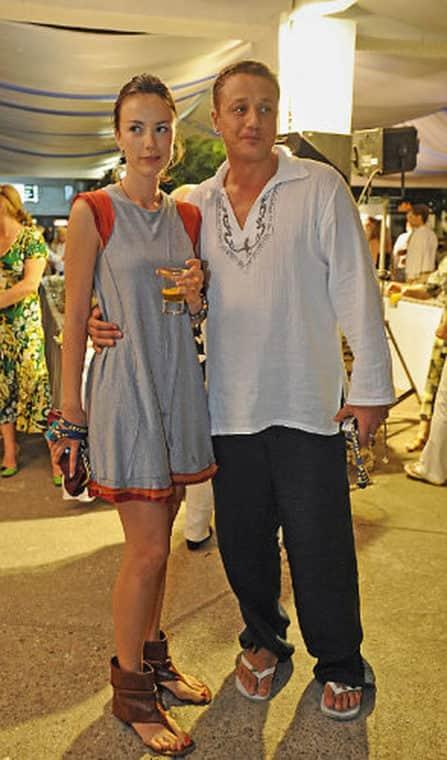 Алексей Макаров с женой