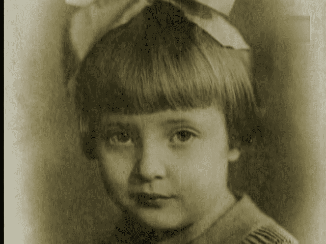 Татьяна Доронина в детстве