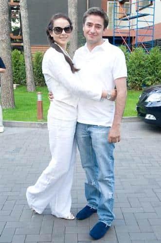 Иван Стебунов с женой