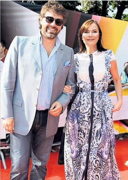 Екатерина Семенова с мужем