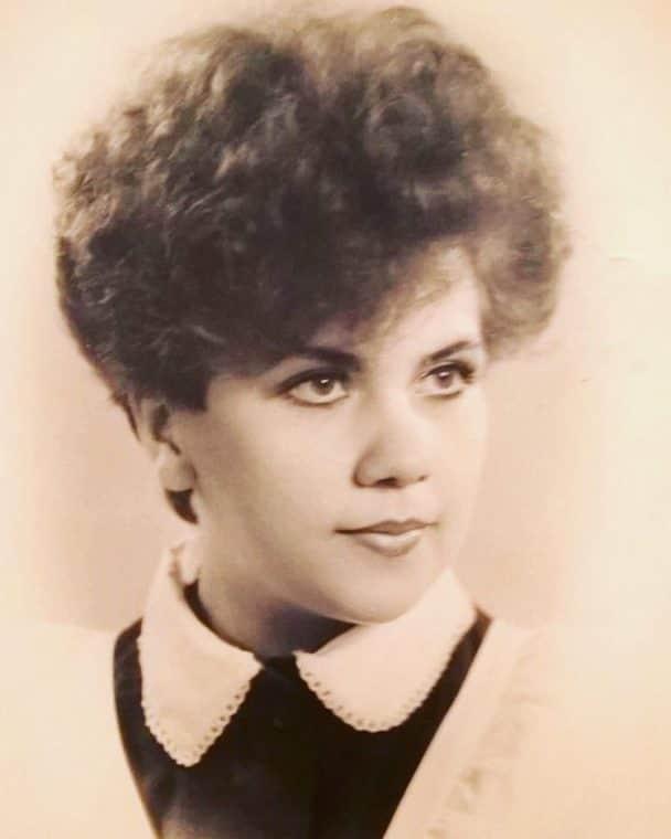 Марина Федункив в юности