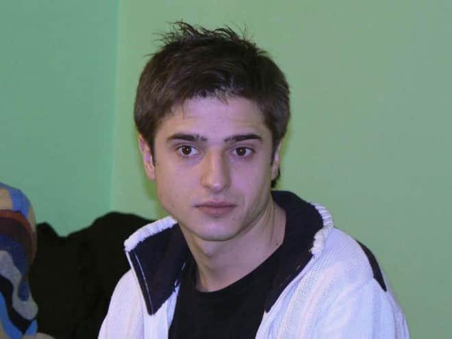 Иван Стебунов в юности