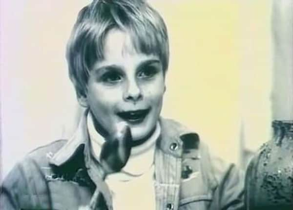 Александр Носик в детстве
