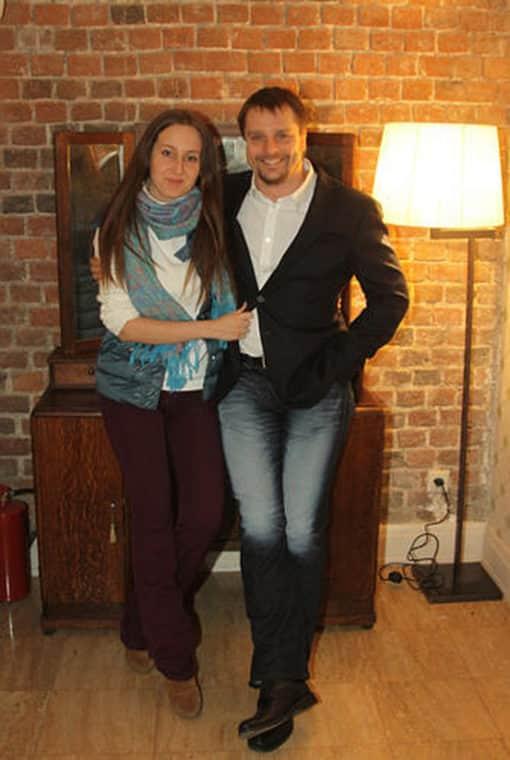 Александр Носик и его жена Ольга