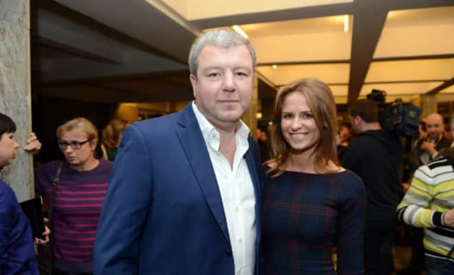 Александр Робак и его жена