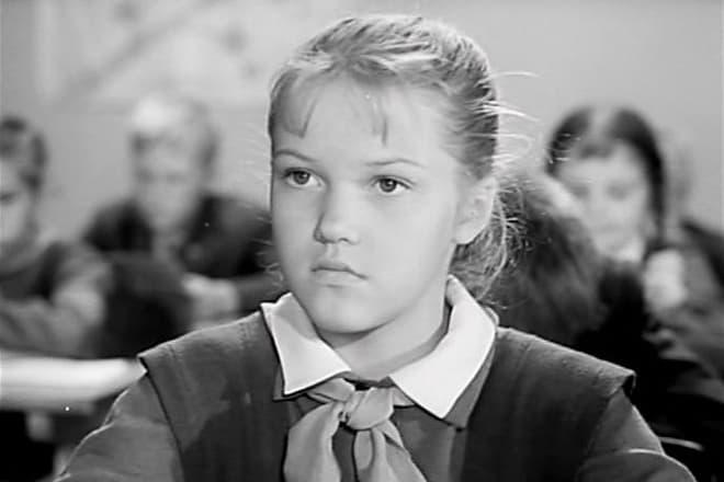 Елена Проклова в детстве