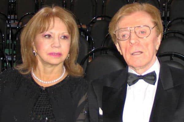 Олег Стриженов с женой