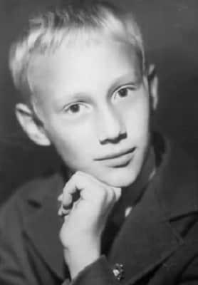 Евгений Сидихин в детстве