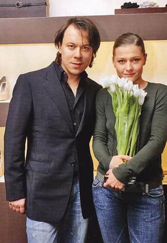 Мария Голубкина с мужем