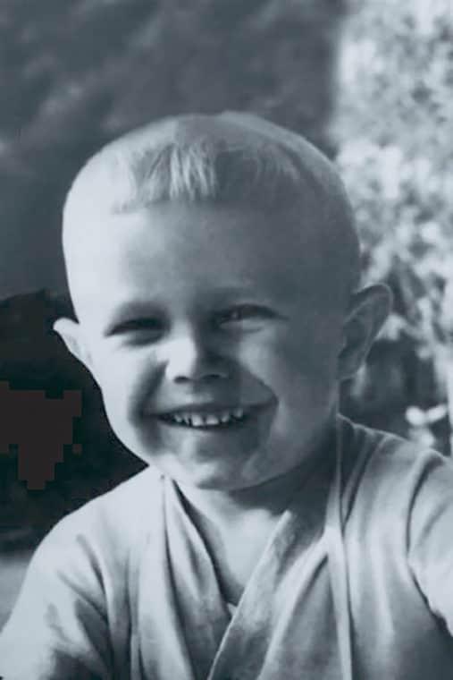 Сергей Гармаш в детстве