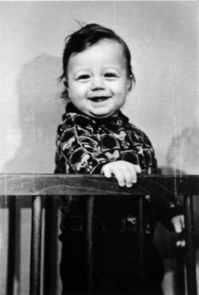 Алексей Макаров в детстве