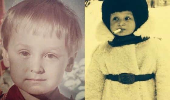 Кирилл Жандаров в детстве