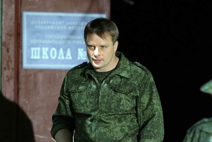"""Александр Носик в сериале """"Спецназ"""""""