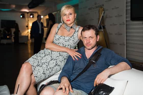 Яна Троянова с мужем