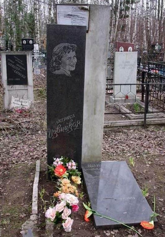Могила Изольды Извицкой
