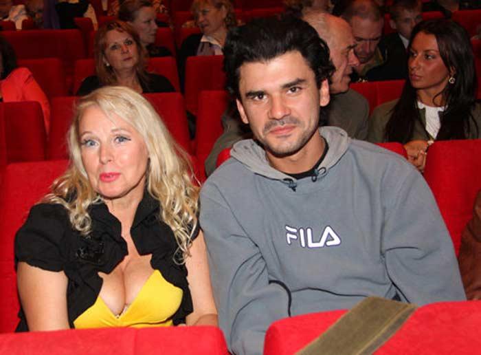 Елена Кондулайнен с мужем