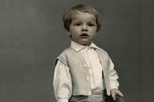 Максим Дрозд в детстве