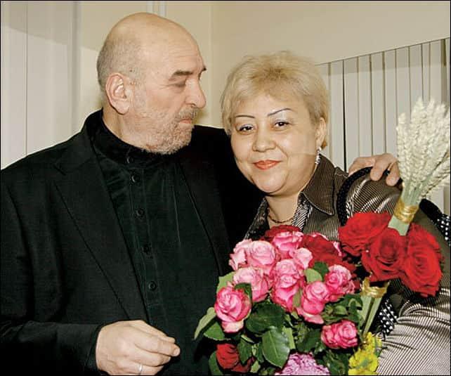 Алексей Петренко с женой