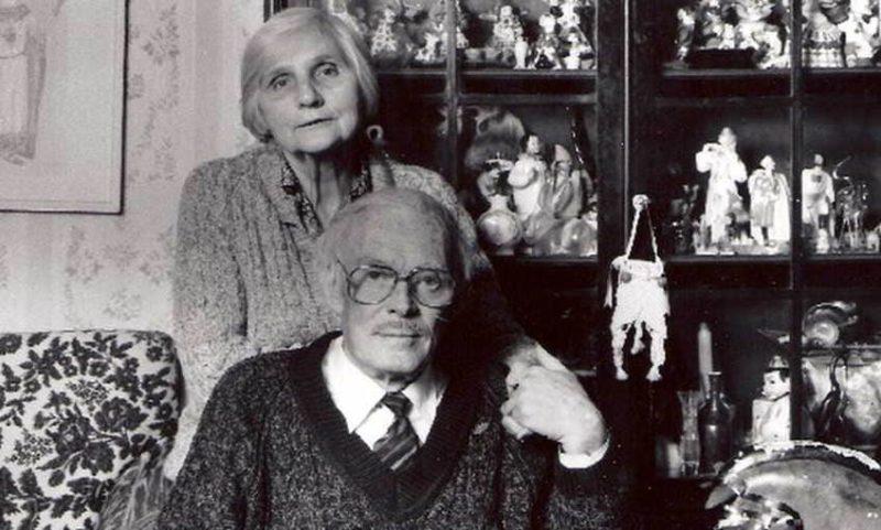 Павел Кадочников и его жена Розалия Котович