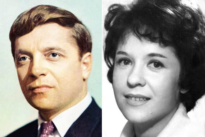 Юрий Белов и его жена