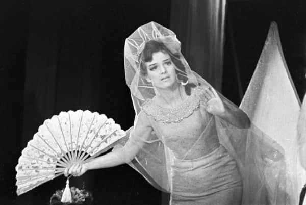 Юлия Борисова в театре