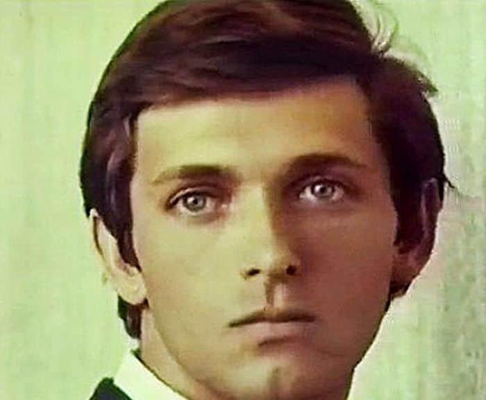 Сергей Мартынов в молодости