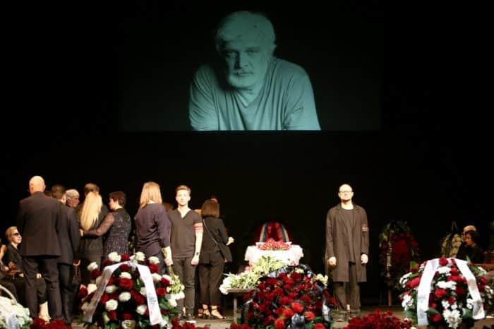 Похороны Дмитрия Брусникина