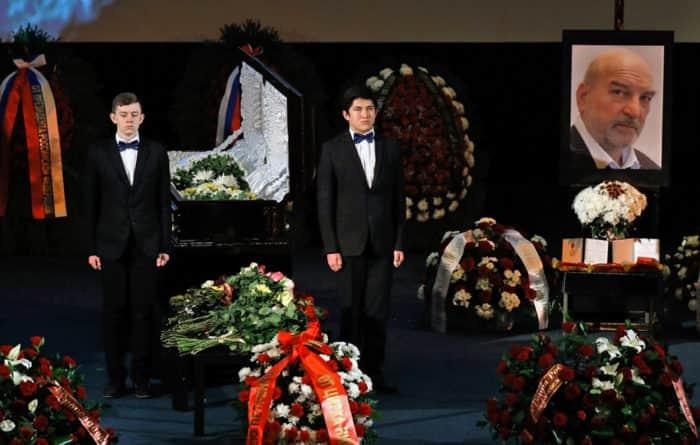 Похороны Алексея Петренко