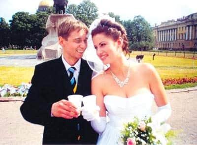 Анатолий Ильченко - свадьба с Анной Ковальчук