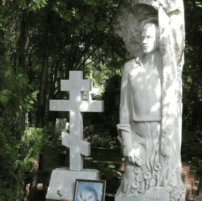 Могила Любови Соколовой