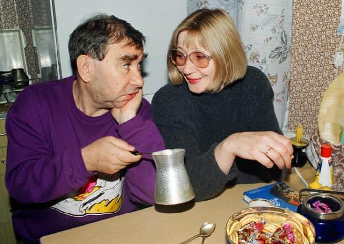 Михаил Светин с женой