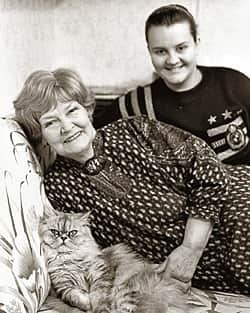 Нина Гребешкова и ее дочь