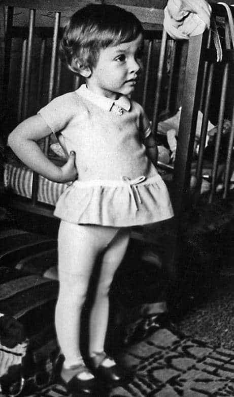 Ксения Хаирова в детстве