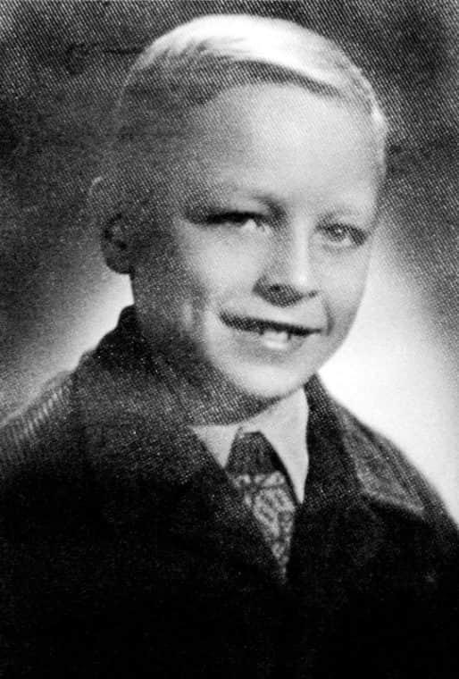 Борис Галкин в детстве