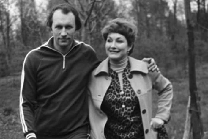Людмила Хитяева с мужем