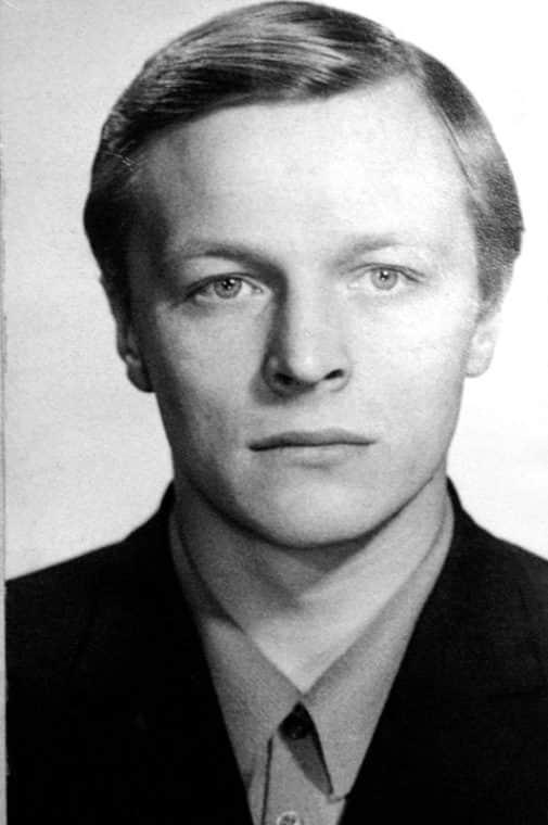 Борис Галкин в молодости