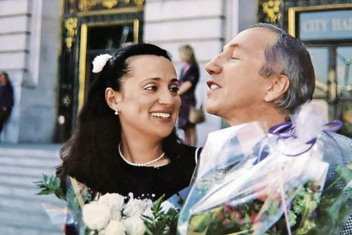 Савелий Крамаров с женой