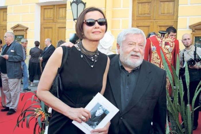 Татьяна Друбич с мужем