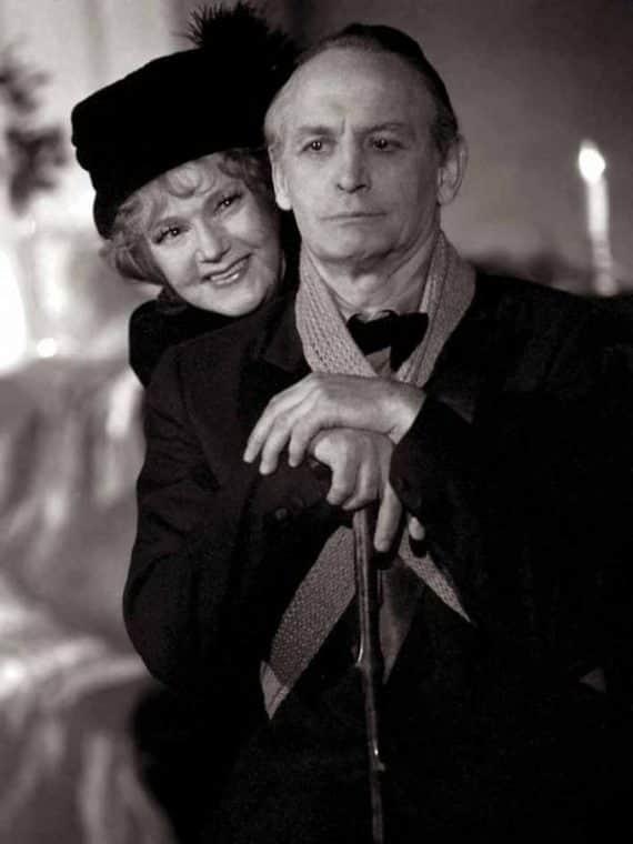 Юлия Борисова с мужем