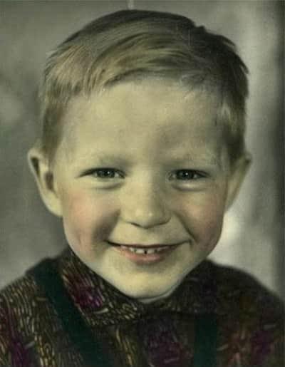Сергей Маховиков в детстве