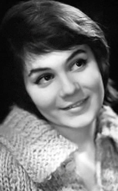Валентина Малявина в молодости