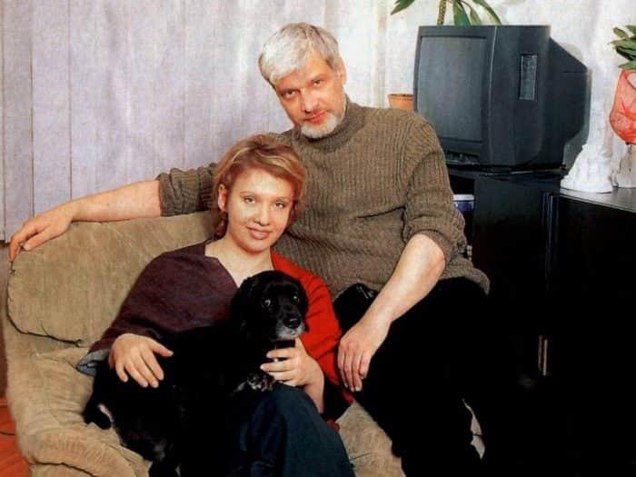 Дмитрий Брусникин с женой