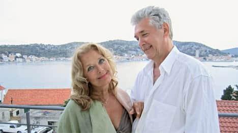 Сергей Мартынов с Ириной Алферовой
