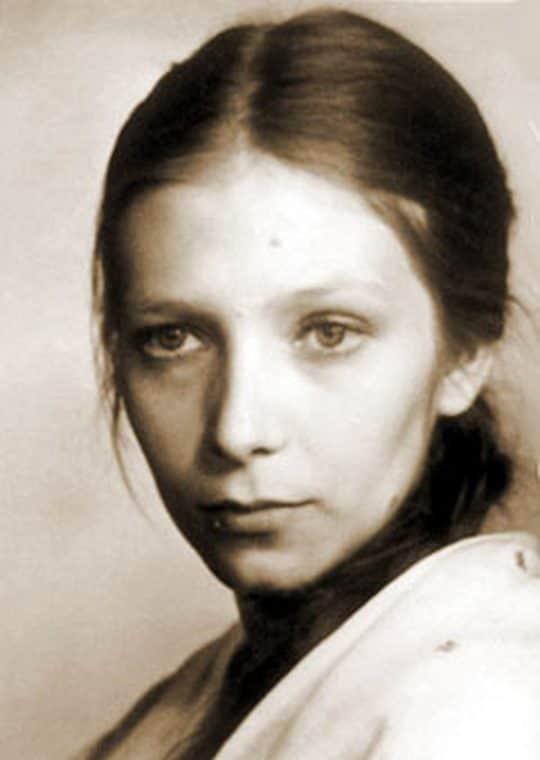 Елена Майорова в детстве