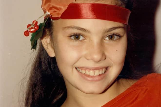 Янина Соколовская в детстве
