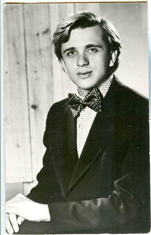 Евгений Стеблов в юности