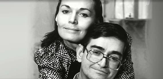 Людмила Чурсина с мужем