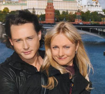 Дмитрий Исаев с женой
