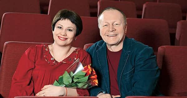 Борис Галкин с женой