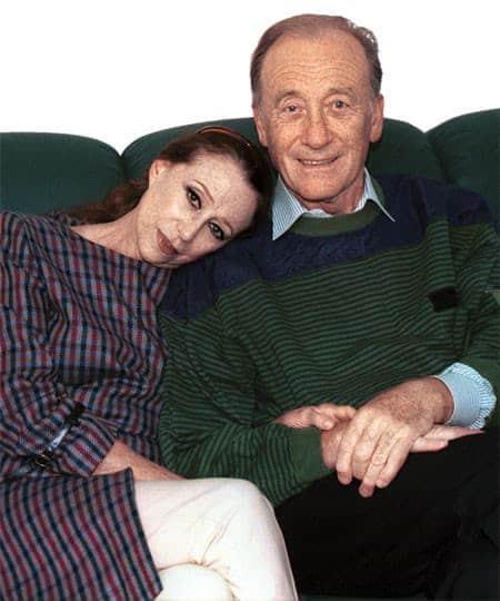 Майя Плисецкая с мужем